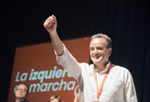 Juan Antonio Sánchez Quero ha sido proclamado hoy nuevo Secretario General de la Provincia de Zaragoza en el 8º Congreso Provincial del PSOE Zaragoza