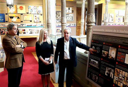 La Diputación de Zaragoza conmemora el centenario de la Bauhaus con una exposición en el palacio de Sástago