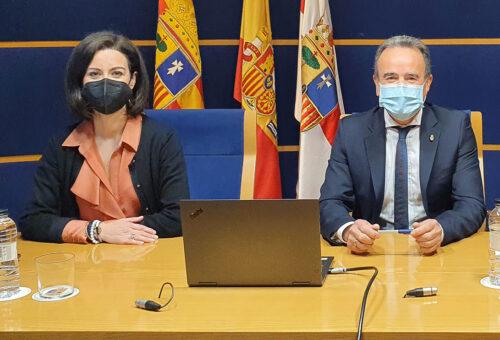 La Diputación de Zaragoza aprueba su presupuesto para 2021, solo con los votos de PP y Vox en contra