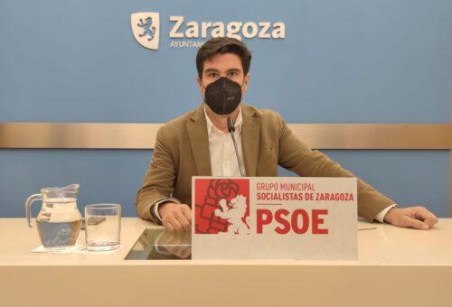 El PSOE denuncia el abandono del Gobierno de Azcón de sus compromisos urbanísticos adquiridos con el Gobierno de Aragón
