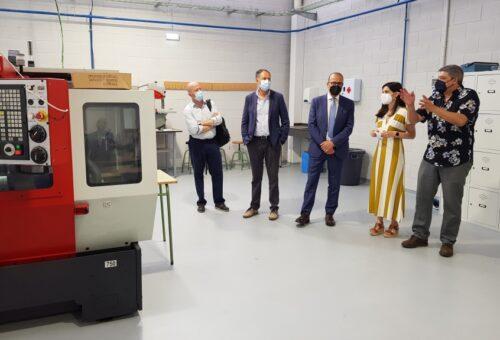 El IES La Puebla de Alfindén amplía su oferta educativa con el Ciclo Formativo de Mecatrónica Industrial