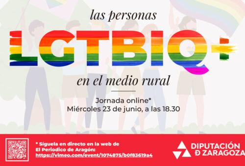 La DPZ se suma a la conmemoración del Día del Orgullo Gay con una jornada online sobre las personas LGTBIQ+ en el medio rural